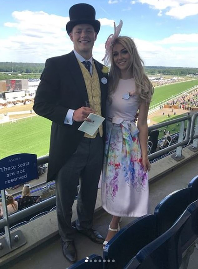 He is out! Ollie realized that he was still in love with Laura Nofer, from whom he separated last year (photographed together at Royal Ascot in June 2018)