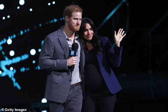 Taking the mic: The Obamas and Clintons command six-figure fees for speaking engagements, and experts believe Meghan and Harry can easily do the same