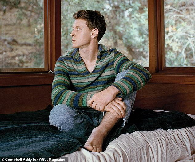 Leading man: George Mackay, 27, is making his mark with his role as the protagonist of the Sam Mendes wonder 1917