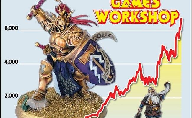 Games Workshop Posts A Bumper Set Of Half Year Profits