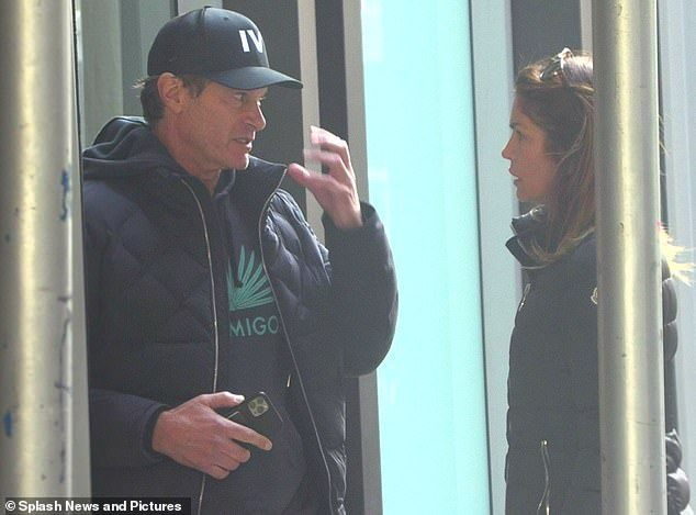 On December 26, Kaia's dad Rande Gerber was heard telling Cindy Crawford that someone, presumed to be Davidson, had 'scratched eyes' and was 'freaking out' in her apartment