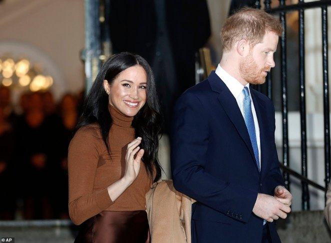 Prince Harry is due to fly back to Canada later this week when the couple will start out on their new life after his talks with the Queen to negotiate the terms of their new roles within the royal family