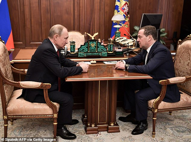 Medvedev will stay on in government in the newly-created post of deputy of the presidential security cabinet (Putin and Medvedev talk in Moscow on Wednesday)