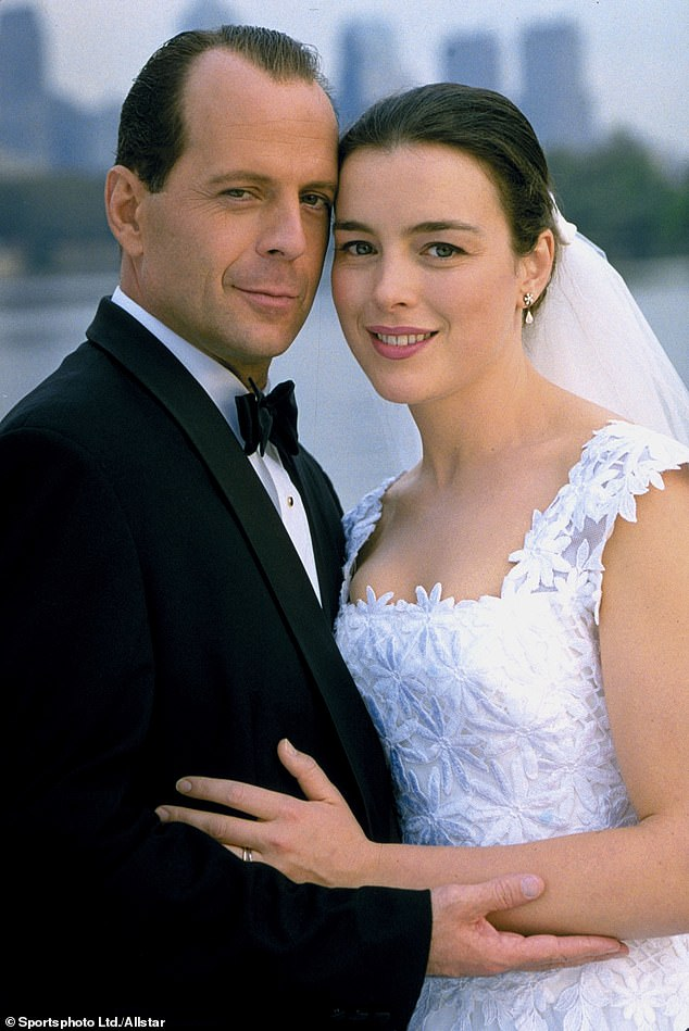Olivia (photographed in The Sixth Sense with co-star Bruce Willis) was diagnosed with malignant neuroendocrine tumor / cancer in 2018