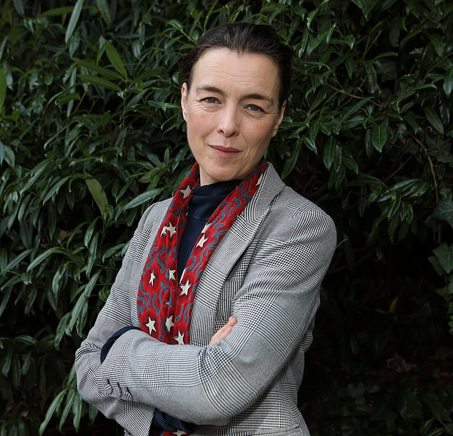 Olivia Williams (pictured) who underwent surgery seven and a half hours after being diagnosed with cancer, talked about continuing to work while fighting the condition.