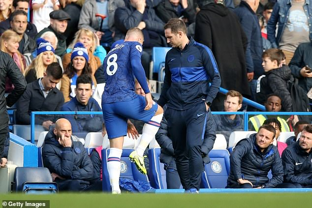 Barkley was frustrated by the lack of a piece of the season with a foot injury in October