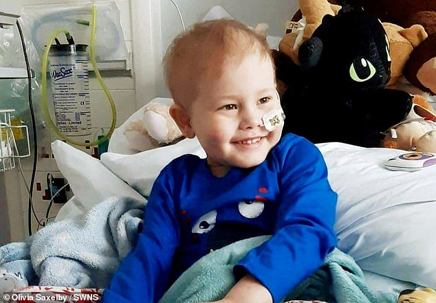 Oscar Saxelby-Lee, from Worcester, was given a 'life of death' three month race against time to find a stem-cell match after his aggressive form of leukaemia worsened