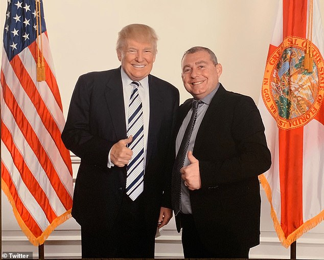 Have we met? I'm sure we haven't! President Trump dismissed a photos of him and Parnas as just taken at a fundraiser