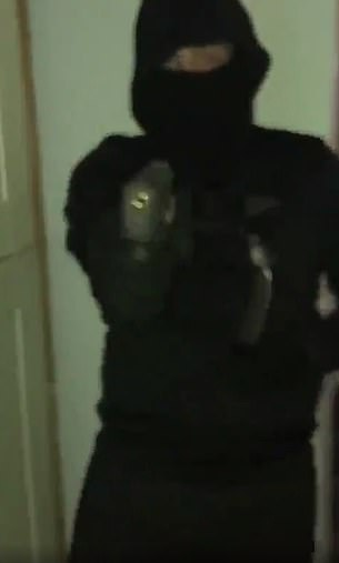 The killing has prompted both sides to vow vengeance, with videos of balaclava-clad men brandishing weapons posted online
