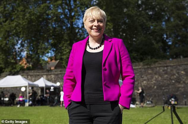 Labour MP Angela Eagle (pictured) said it was an 'awful conflict of interest' and gambling firms should be 'nowhere near our health services'