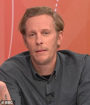 Actor Laurence Fox