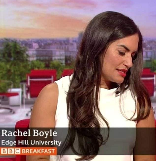 Rachel Boyle has appeared on the sofa reviewing newspapers for the BBC  - but viewers pointed out she was introduced as an audience member