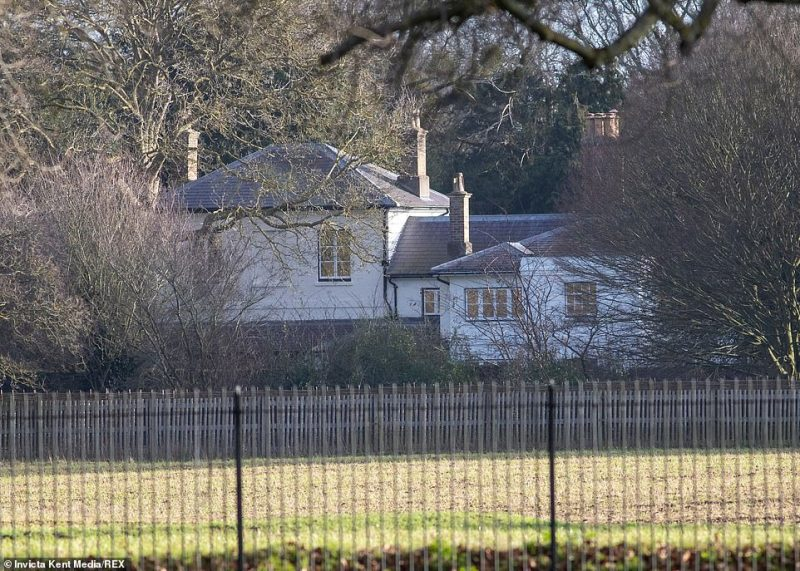 Harry and Meghan have indicated that they intended to keep their home at Frogmore Cottage (pictured) in Windsor, which was a gift from the Queen, though reports emerged this week that staff at the residence are being 'let go'