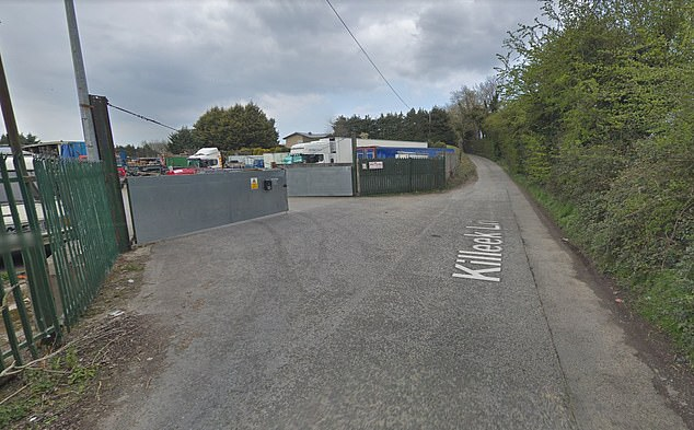 Friday's shooting occurred near a forklift company in the Kilbrook area, near Dublin Airport, with a forensic examination due to take place