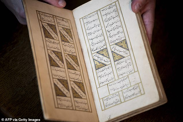 The 15th century book, worth £850,000, sparked an international race between investigators and the Iranian government. It was handed back in London late last year
