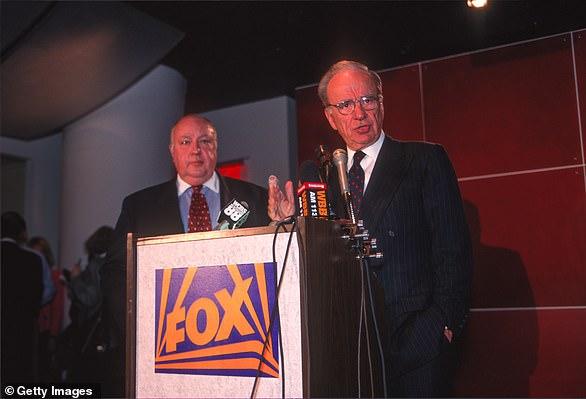 Rupert Murdoch announced Fox News with Roger Ailes in 1996