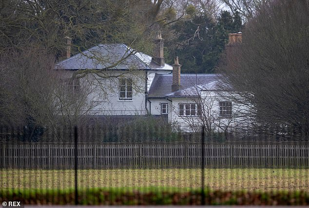 Insiders speak of the 'hundreds of thousands of pounds' the Prince made available to furnish the couple's Windsor home (Frogmore Cottage above) after their decision to abandon Kensington Palace