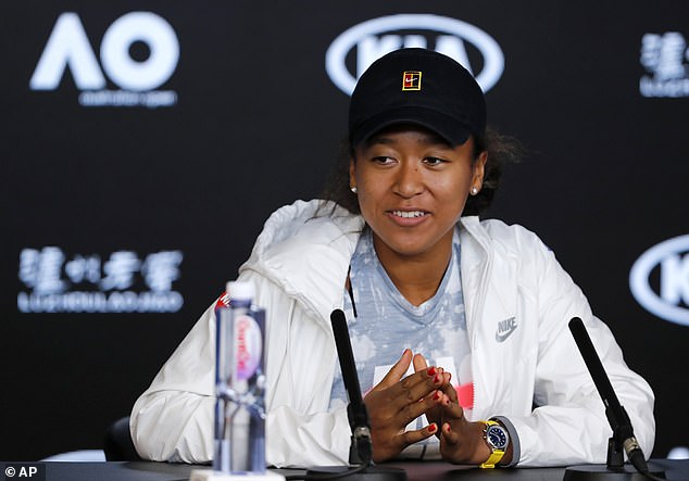 Japan's Naomi Osaka tells a press conference on Saturday it's 'super weird' that people keep asking her about Ash Barty ahead of the Australian Open tennis championship in Melbourne