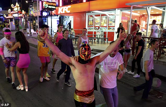 The regional governments move is attempting to put the brake on the 'excesses of drunken tourism'. (Revellers in Magaluf in 2015)