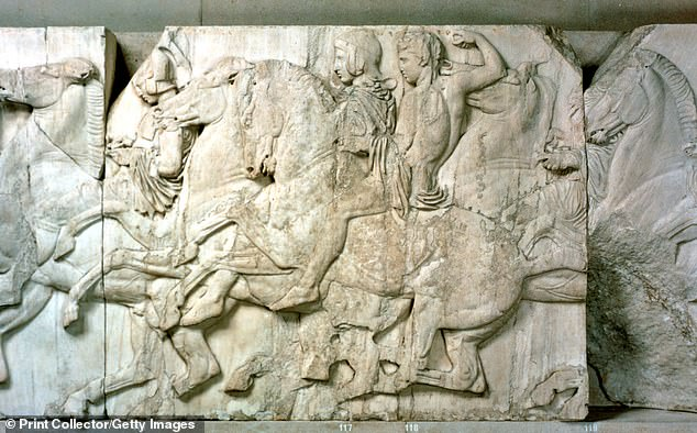 The 7th Earl of Elgin, Thomas Bruce, removed the Parthenon Marble pieces from the Acropolis in Athens while serving as the British ambassador to the Ottoman Empire from 1799 to 1803