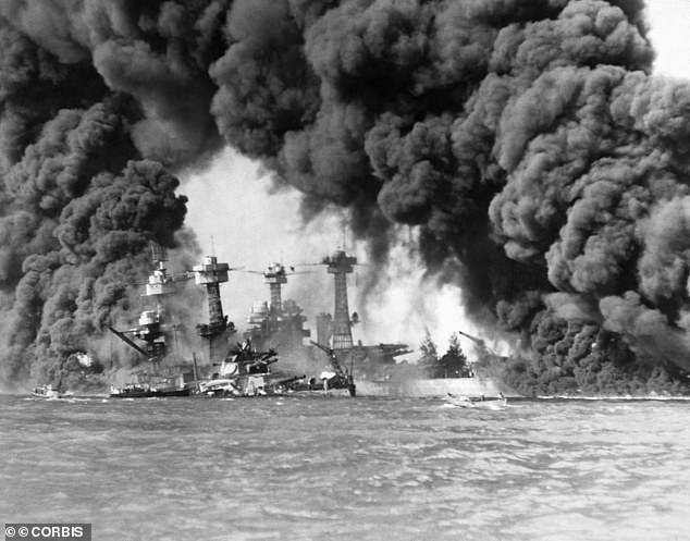 The attack on the Pearl Harbor naval base in Honolulu, Hawaii, was a surprise military strike by the Imperial Japanese Navy Air Service on the US