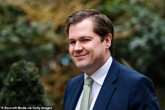And after a story appeared about multi-millionaire Housing Secretary Robert Jenrick (pictured) being at loggerheads with his blue-collar deputy Esther McVey over which voters should be helped onto the housing ladder, the adviser blamed for the story was ordered to apologise to Mr Jenrick in person