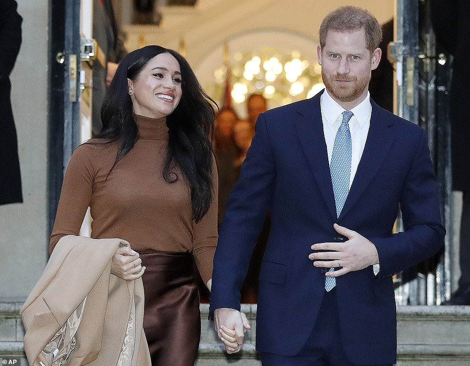 Commercial relations between Prince Harry and Meghan Markle will be assessed in a year