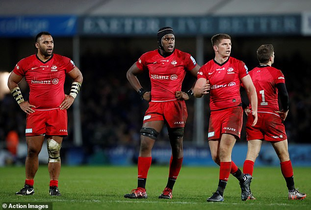 Saracens' relegation was confirmed on Sunday in a statement by Premiership Rugby