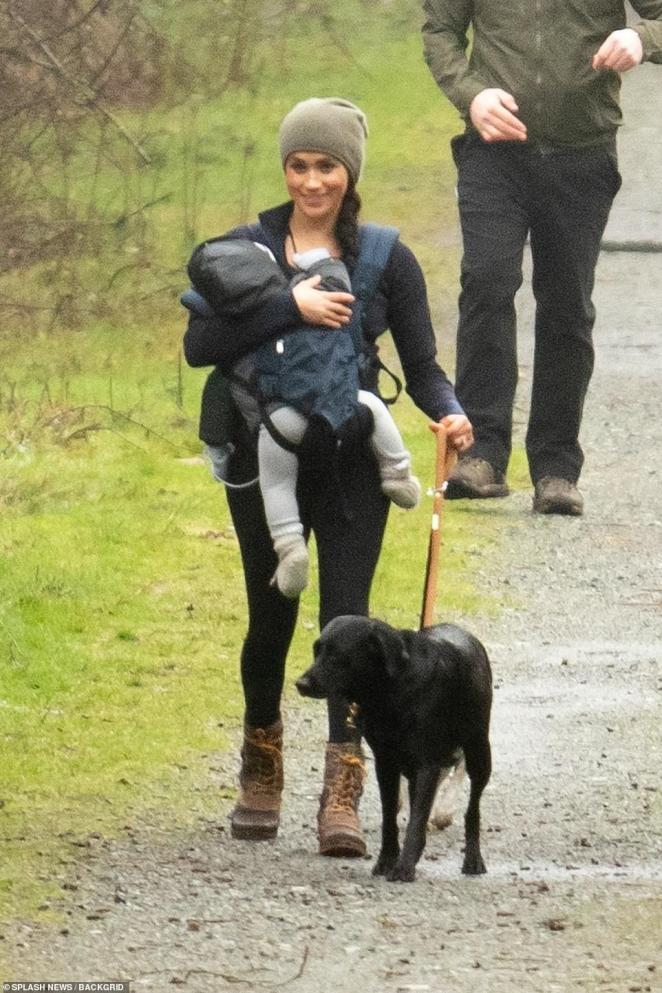 Markle appears to be settling into her life as a commoner quite smoothly