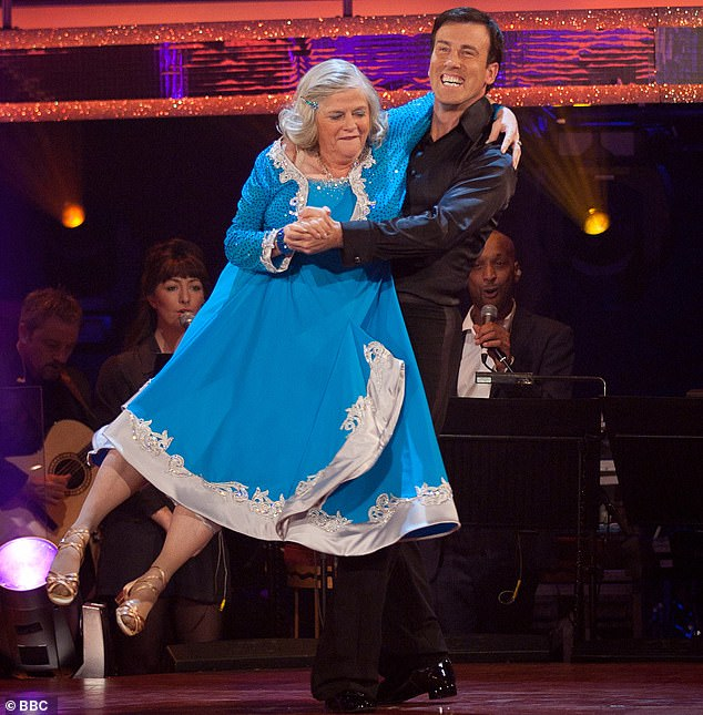 'Every year you get a new cast and you start again': Anton told MailOnline 'It doesn't matter who you get' after being partnered with a string of hopeless dancers such as Ann Widdecombe