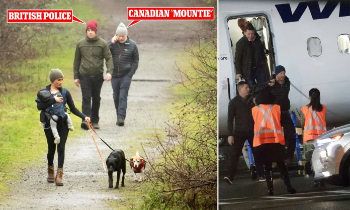 Resultado de imagen de Prince Harry & Meghan Markle's Security Won't Be Paid for by Canada Anymore