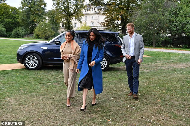 The couple are said to be closer than ever to Meghan's mother, who is providing advice and support for them while they make their step back from royal life