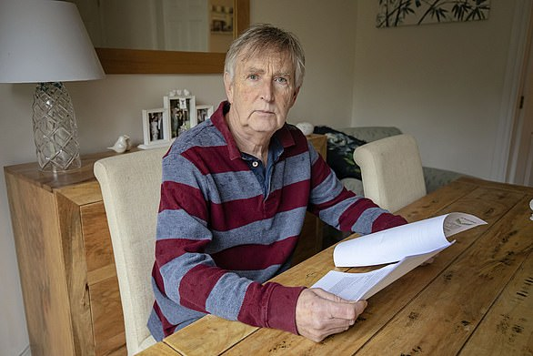 Alan Puckey has been ordered to pay back almost £250,000 by BT after it miscalculated his pension