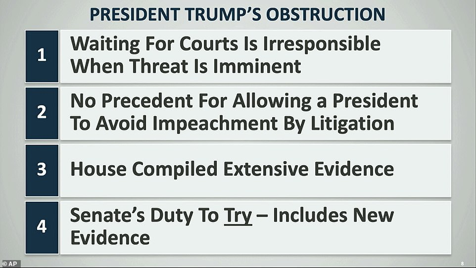 Schiff made his case for presidential obstruction as he appeared for new documents and witnesses