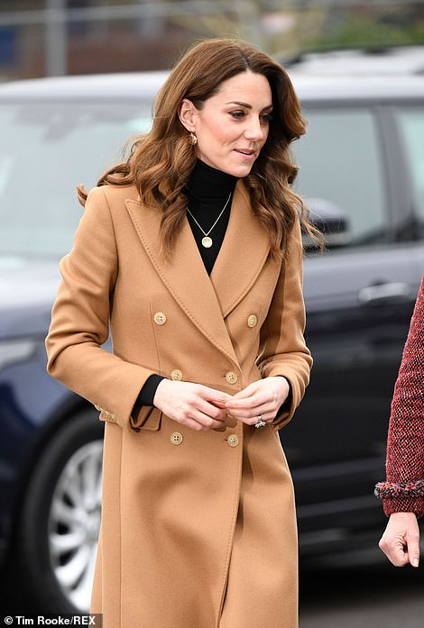 Kate visits the centre in Cardiff today