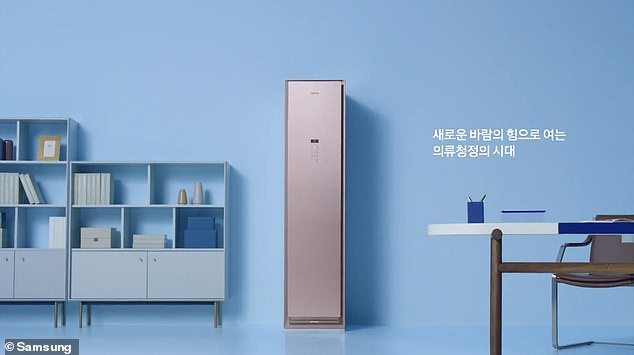 Samsung announced the global launch of its innovative AirDresser in markets around the world, including the UK, starting Thursday, January 23