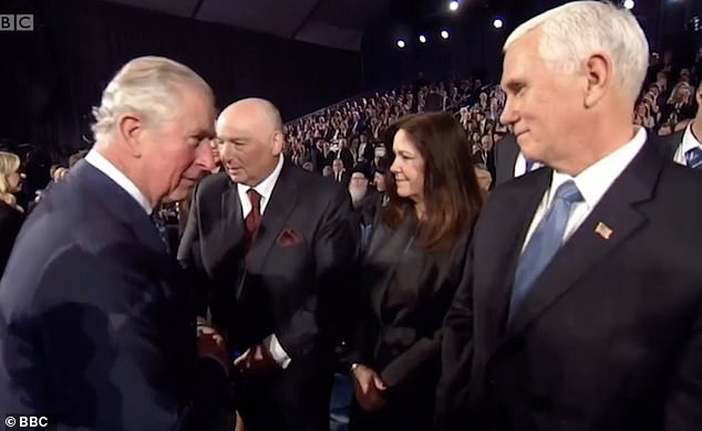 Twitter erupts with hilarious memes after Prince Charles avoids shaking Mike Pence's hand