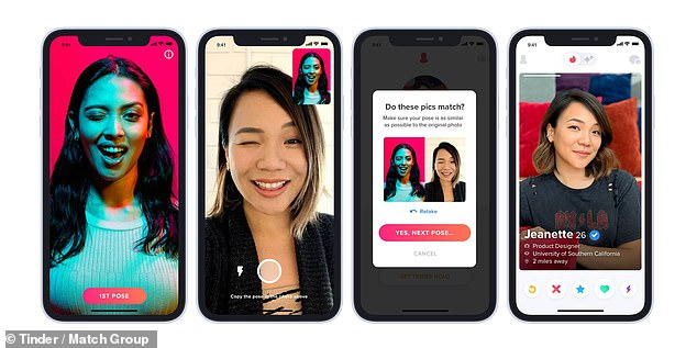 The photo verification feature allows members to get their images authenticated by posing of a series of real-time selfies. Human-assisted artificial intelligence technology will then compare these submission to existing profile photos to confirm that they do match up.Now, users can choose to see only Photo Verified profiles, in Explore