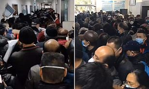 Video shows Wuhan hospital full of China coronavirus patients ...