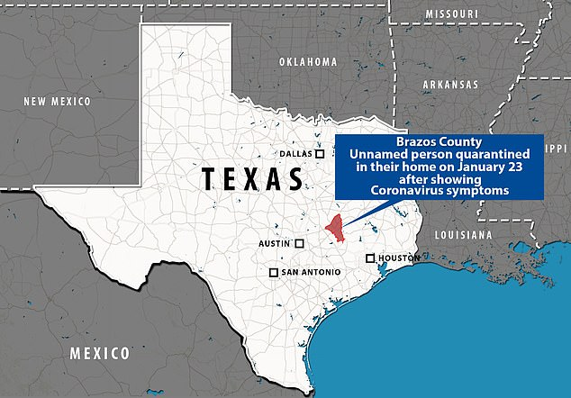 Possible cases of China coronavirus found in Texas and LA | Daily ...