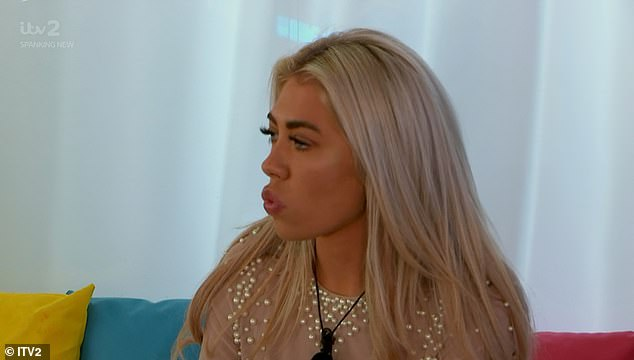 Raging! Two new boys entered the villa on Thursday night, ruffling the other guys' feathers - but it was Paige who got herself into a tizz