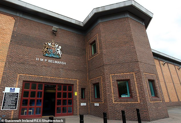 Assange is being held at Belmarsh Prison in Thamesmead, South East London (file picture)