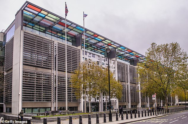 Mr Williams, who is director general of the Borders, Immigration and Citizenship Systems Policy and Strategy Group, is based in Westminster. Pictured: Home Office