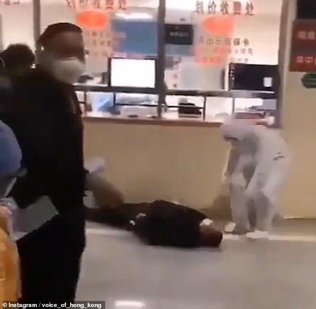 Coronavirus: Disturbing videos claim to show people collapsing in ...