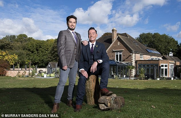 Revel Horwood with current partner Jonathan Myring at their Hampshire home. 'It's nice for people to know I am human. I am not affected by the business, like a lot of people'