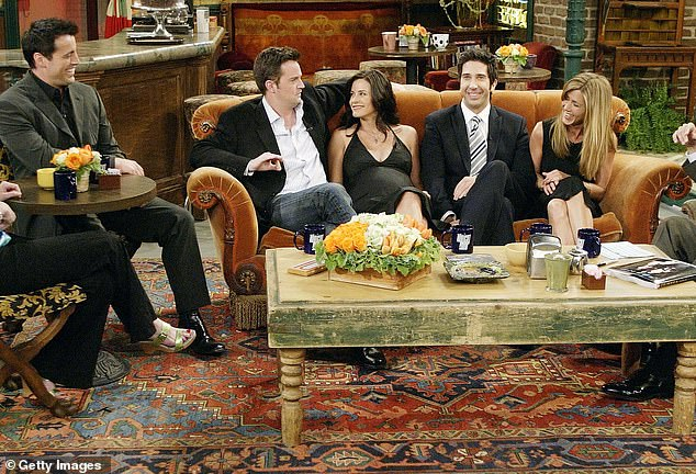 Historic:The Central Perk set from Friends still exists as part of the permanent studio tour at Warner Brothers Studios in Burbank