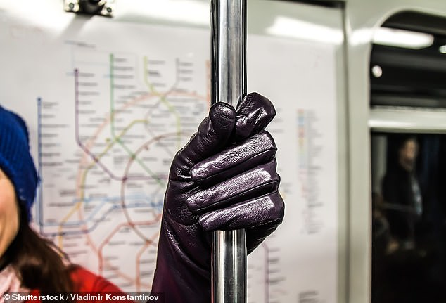It's winter and everyone is wearing gloves any way. Dr Amler says having them on while holding poles and handrails on public transit can cut risks of picking up germs