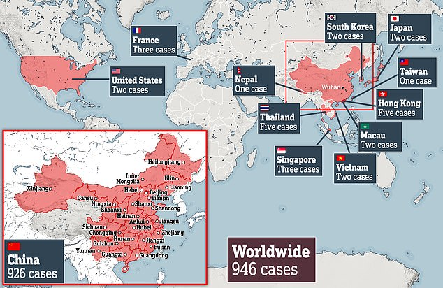 The CDC's official advice is to avoid travel to Wuhan. Meanwhile, the virus has spread to at least 11 other countries