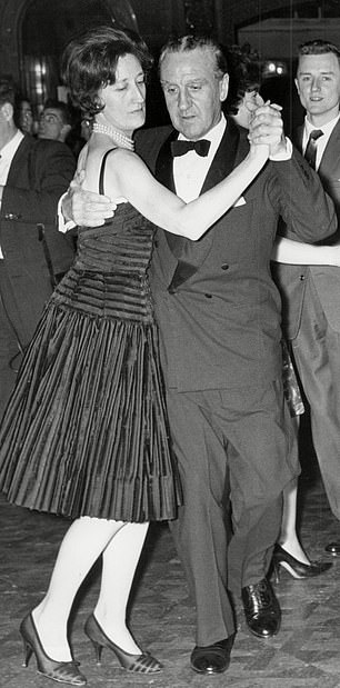 Ernest Marples, Transport Minister under Harold Macmillan's Government, is pictured above with wife Baroness Ruth Marples. A prostitute was paid to dress him in women's clothing and beat him