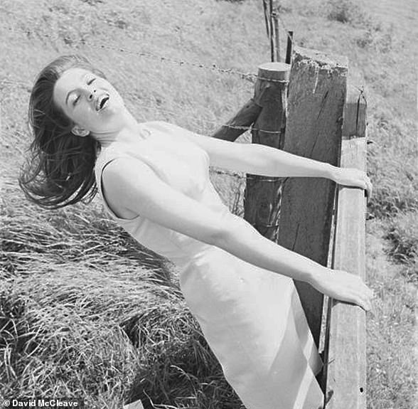 On the day Keeler was freed – June 9, 1964 – she posed for these photographs by Ray Bellisario in a series of locations